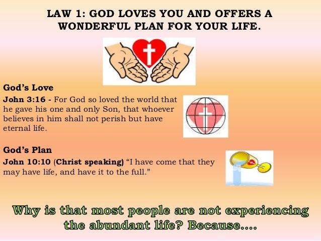 photograph regarding Four Spiritual Laws Printable identified as 4 non secular regulations
