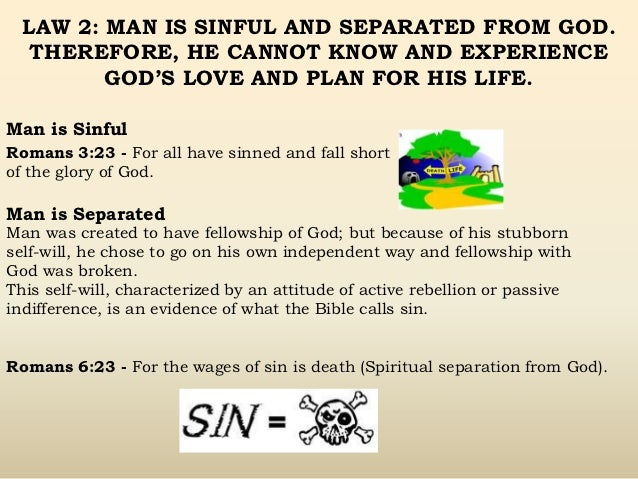 picture about Four Spiritual Laws Printable titled 4 non secular legislation