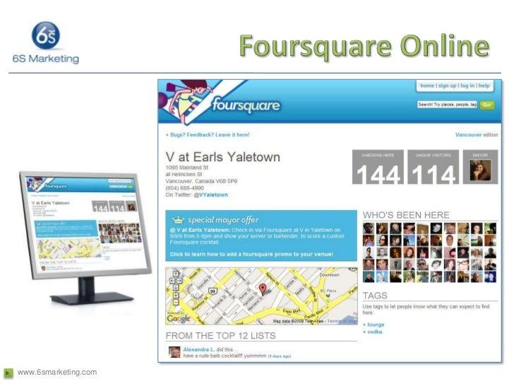 Foursquare Online<br />