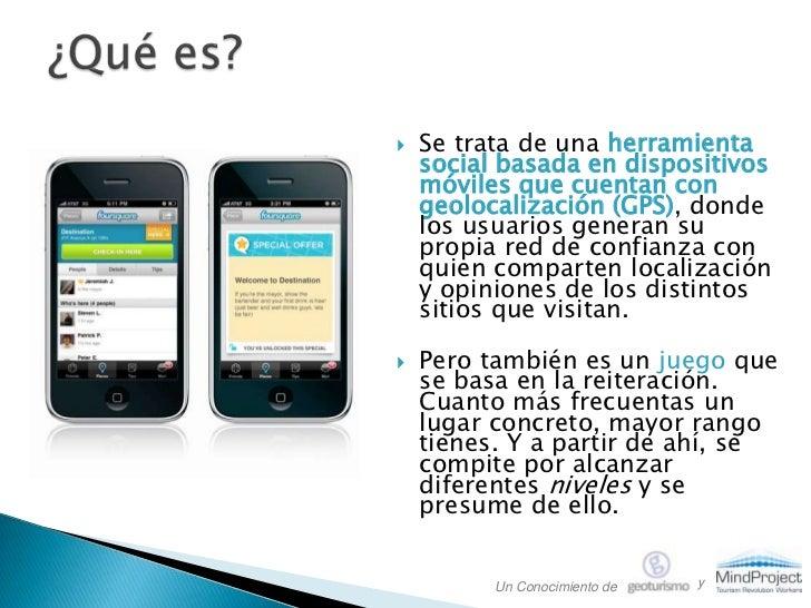 Foursquare para Empresas. Marketing por GeoPosicionamiento Slide 2
