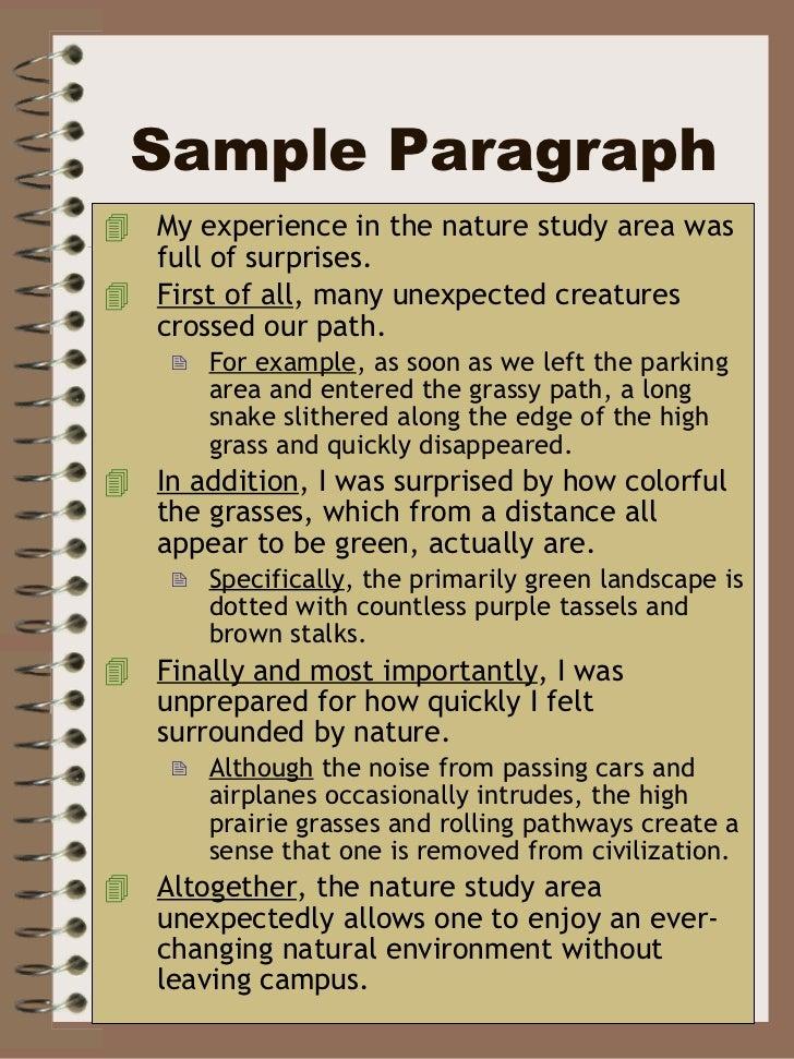 description paragraph This video demonstrates the process of writing descriptive paragraph.