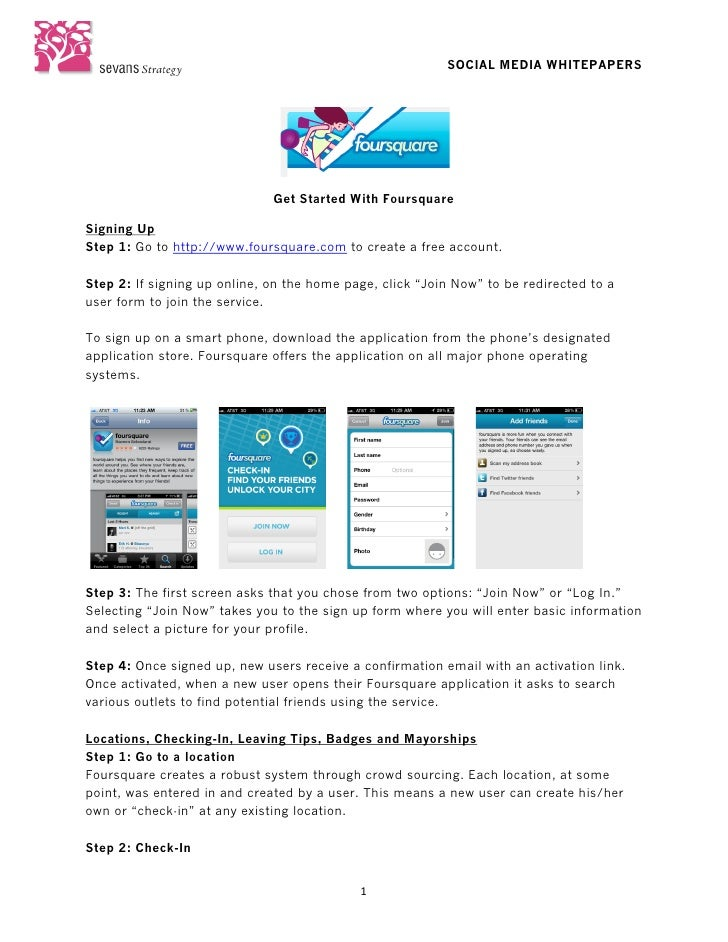 SOCIAL MEDIA WHITEPAPERS                                                                             Get Started With ...