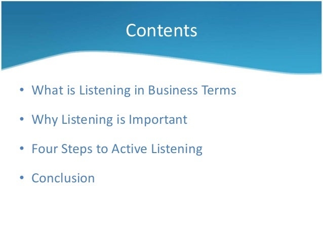 active listening in 4 steps 1 listening and understanding2 empathizing3 asking and encouraging4 paraphrasing.
