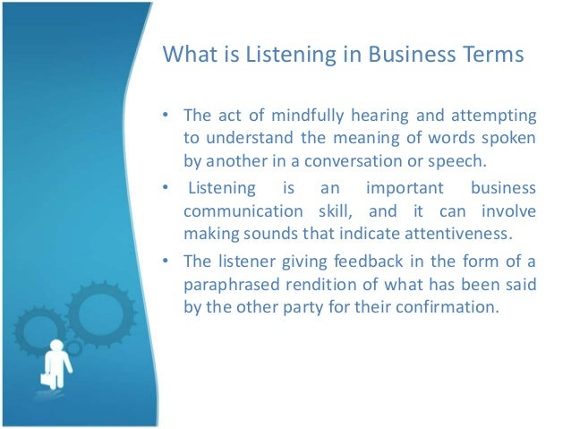 active listening in 4 steps The four rules of active listening include: 1) seek to understand, before you seek to be understood 2) be nonjudgmental 3) provide the speaker with your undivided attention .