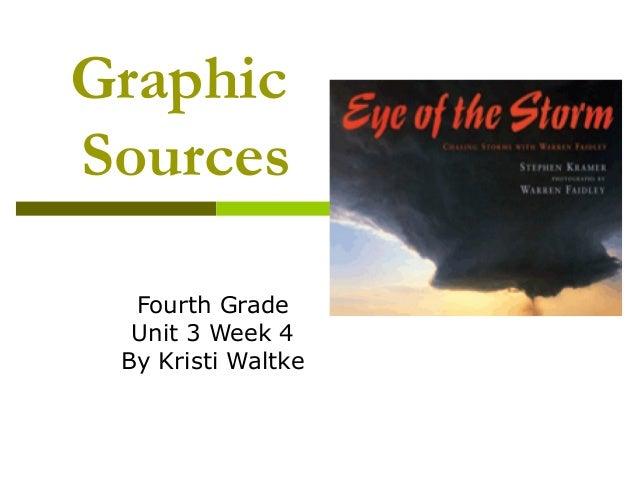 Graphic Sources Fourth Grade Unit 3 Week 4 By Kristi Waltke
