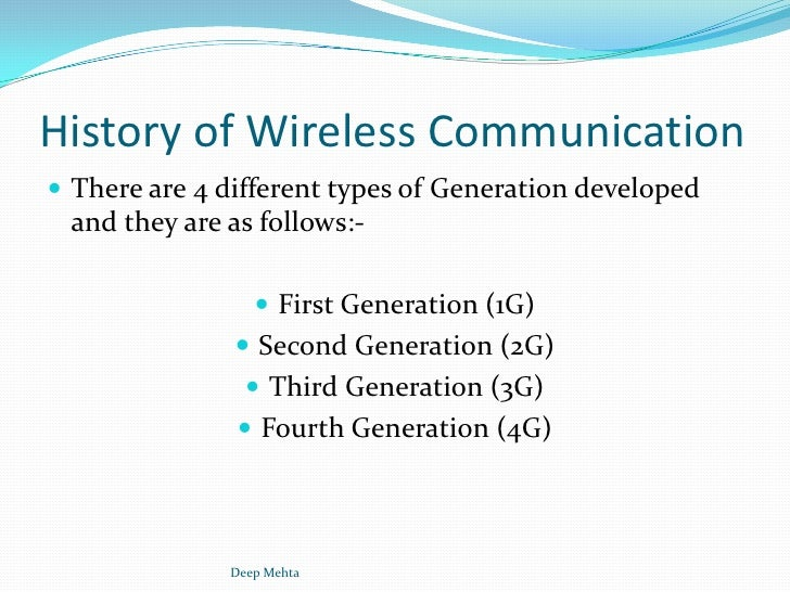 history of 4g About us newsroom our transformation executive team our network products, plans & partners our brands careers corporate social.