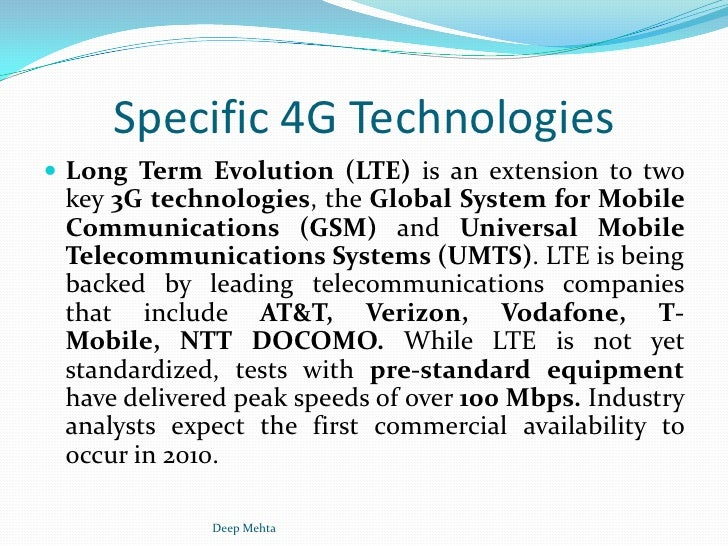 The fourth generation 4g mobile communications