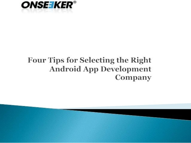    The evolution of android apps has hit the technological sector    with a bang. These apps have influenced various sect...