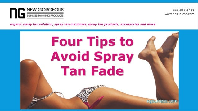 10 Things No One Tells You About Spray Tanning