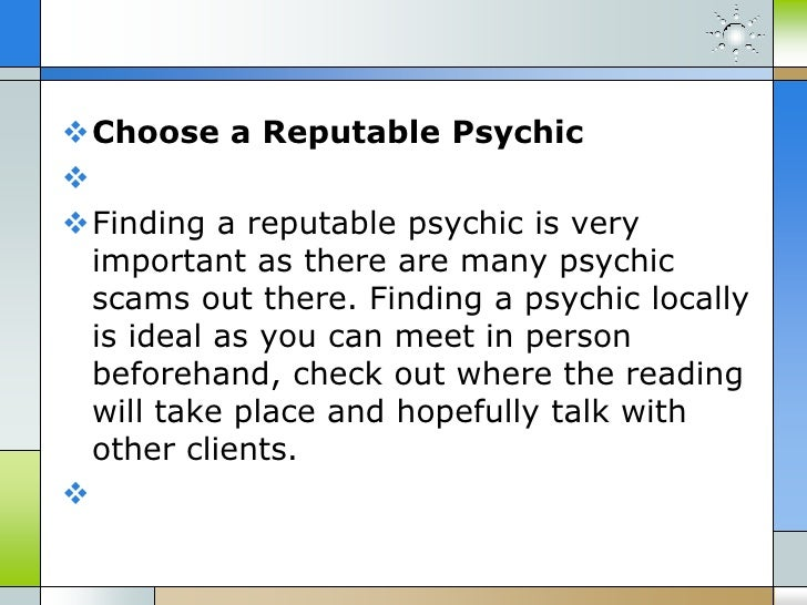 Four tips to get an accurate psychic reading - 웹