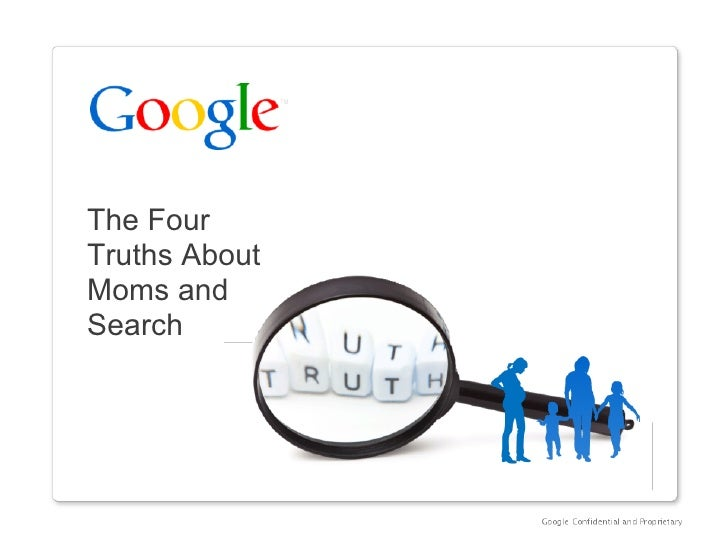 The Four Truths About Moms and Search