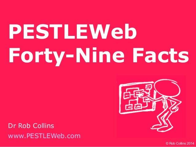 PESTLEWeb Forty-Nine Facts Dr Rob Collins www.PESTLEWeb.com © Rob Collins 2014