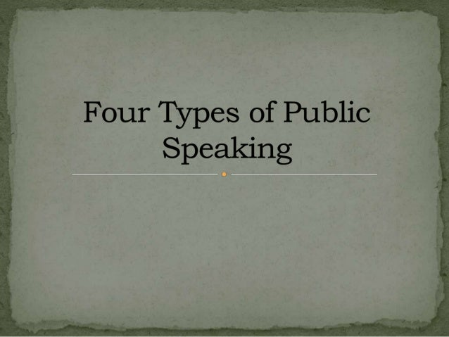 Chapter Presentation Tips for Public Speaking