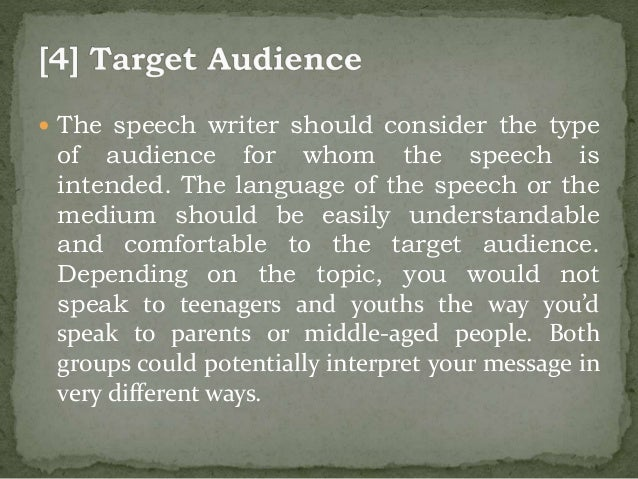 four types of public speaking and useful speech writing tips 19