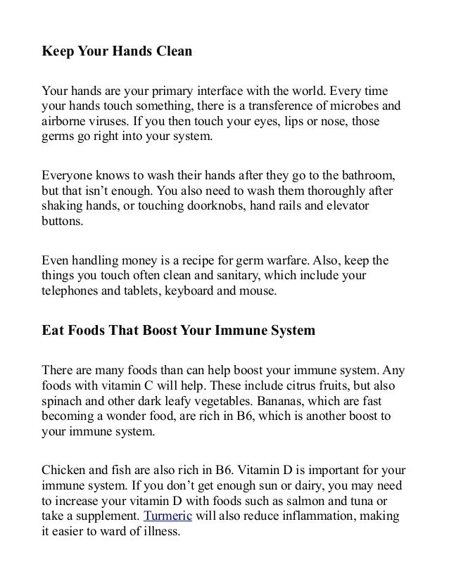 Four Way To Boost Your Immune System