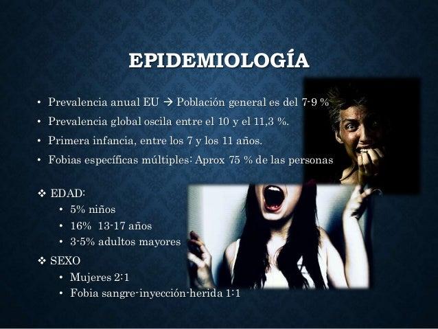 EPIDEMIOLOGÍA • Prevalencia anual EU  Población general es del 7-9 % • Prevalencia global oscila entre el 10 y el 11,3 %....