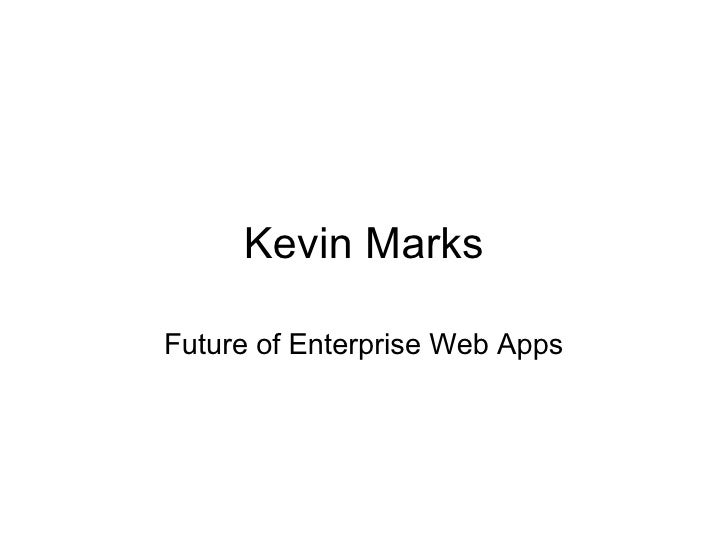 The future of enterprise web apps