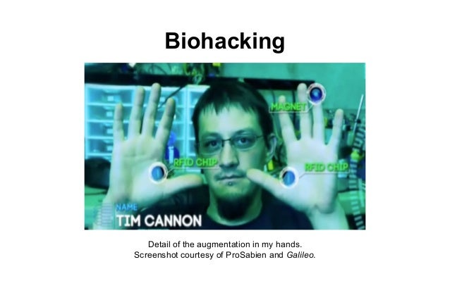 The Human Body in the IoT. Tim Cannon + Ryan O'Shea Slide 2