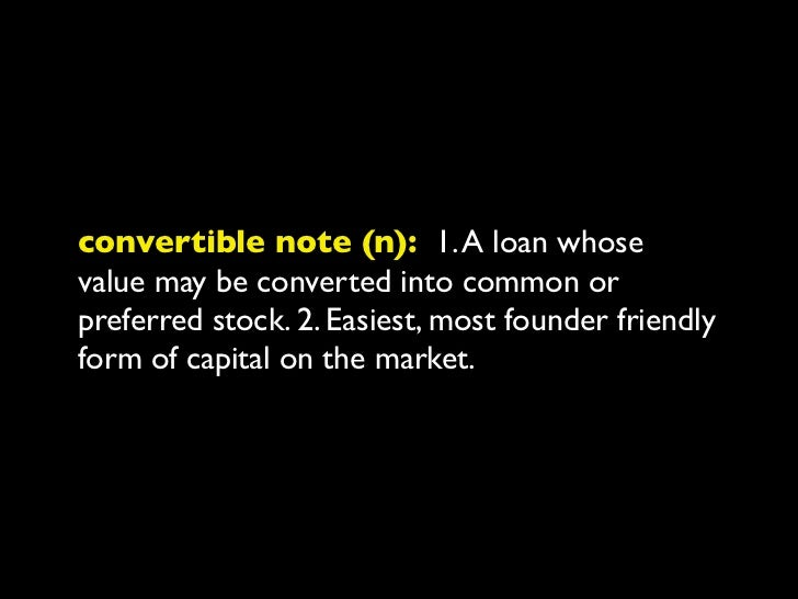 discount (n): 1. An investment discountconvertible note holders receive in subsequentrounds. 2. If the Series A share pric...