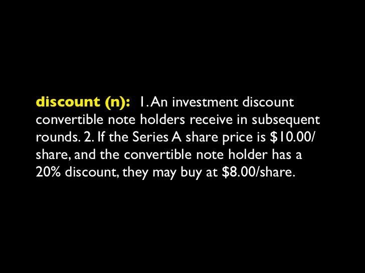 price cap (n): 1. A share price ceiling thatnote holders enjoy in subsequent rounds offinancing. 2. If the convertible note...