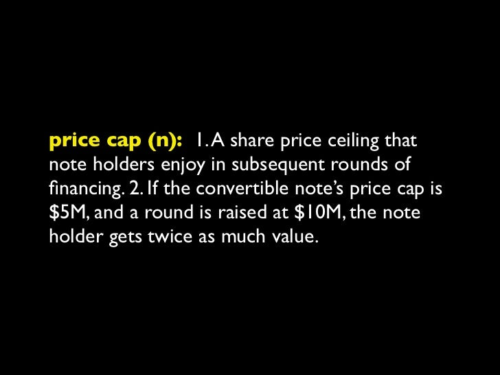 priced round (n): 1. Financing the companyby selling a certain percentage for a mutuallyagreed upon price at a mutually ag...
