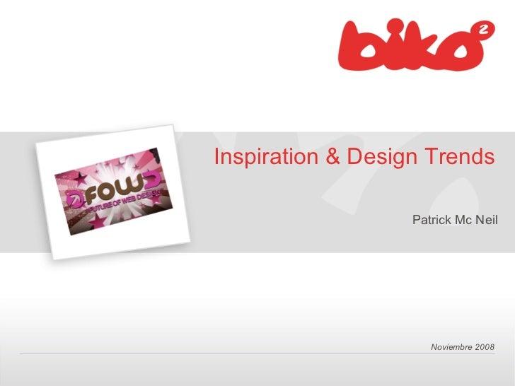 Inspiration & Design Trends                   Patrick Mc Neil                      Noviembre 2008