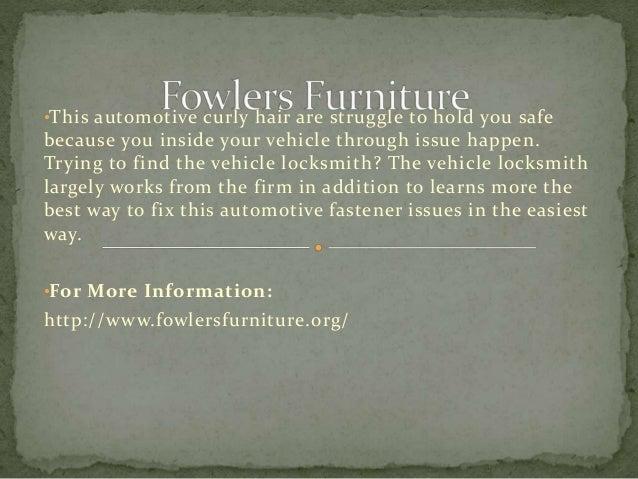 Elegant Fowlers Furniture