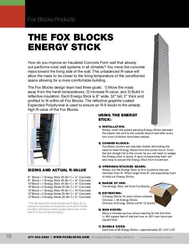 Fox Blocks ICF Guidebook