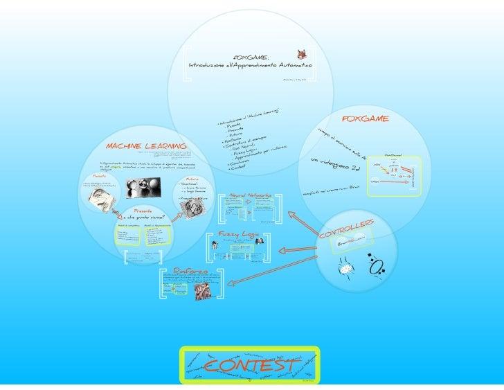 Foxgame introduzione all'apprendimento automatico