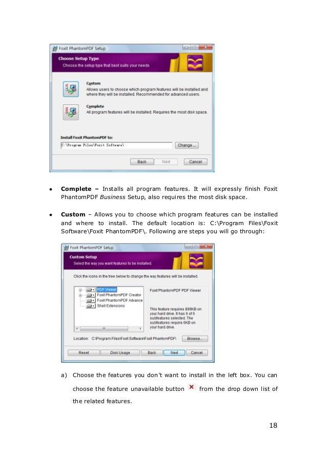 Manual foxit pdf editor