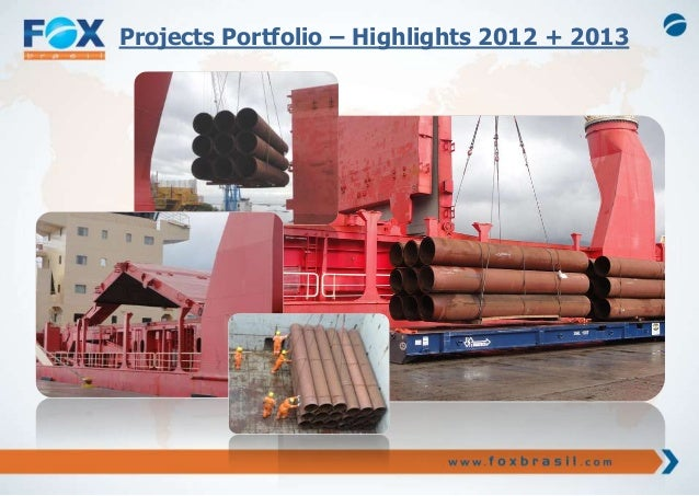 Projects Portfolio – Highlights 2012 + 2013