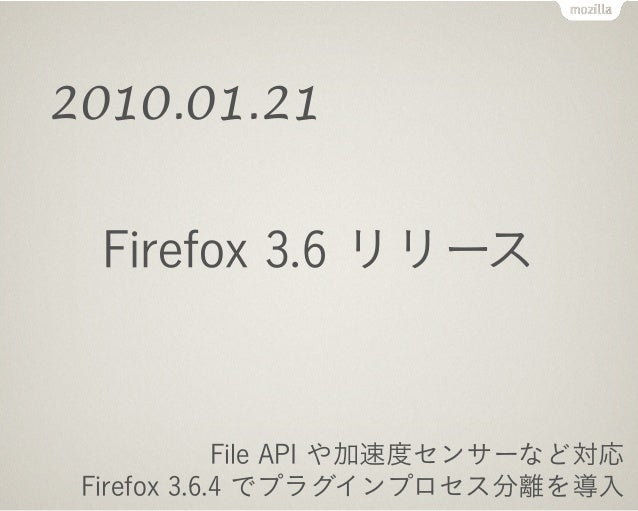 Android 版 Firefox リリース
