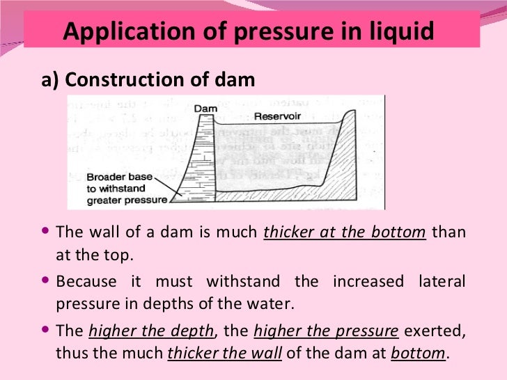 application of pressure in our daily life Explain 7 application s of pressure in our daily life - 3821048.
