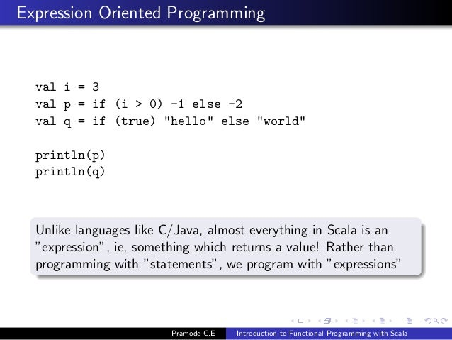 Introduction to Functional Programming with Scala