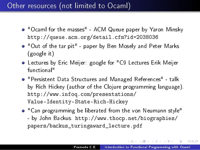 Ocaml From The Very Beginning Pdf Download