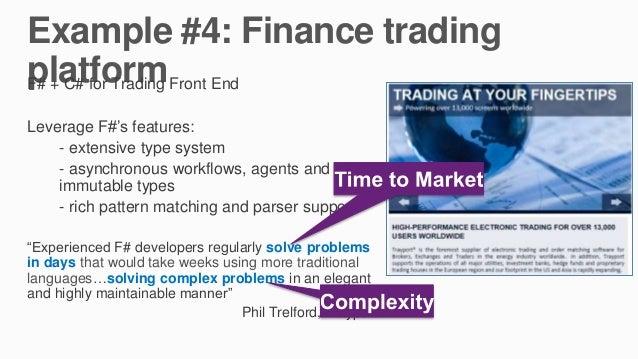 Ocaml trading system