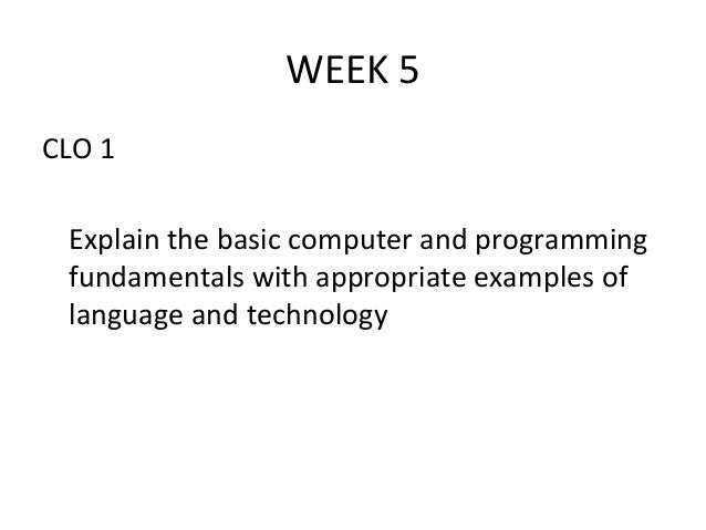 Chapter 5 programming problems week 7 it 210