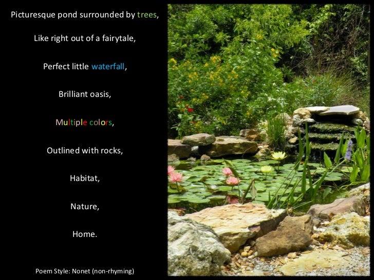 waterfall poem