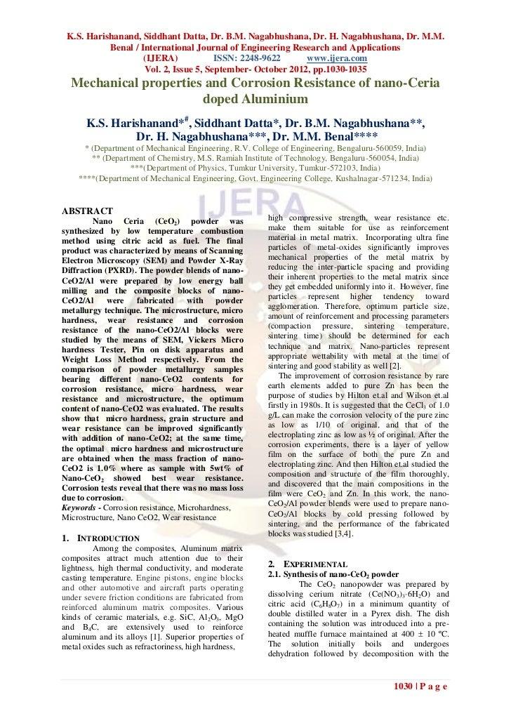 K.S. Harishanand, Siddhant Datta, Dr. B.M. Nagabhushana, Dr. H. Nagabhushana, Dr. M.M.           Benal / International Jou...
