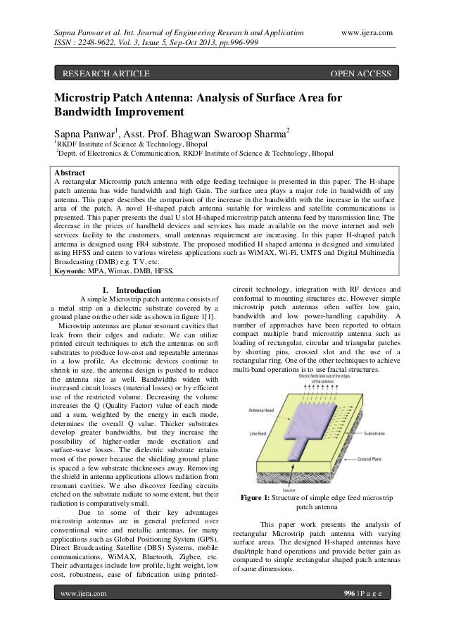 Sapna Panwar et al. Int. Journal of Engineering Research and Application ISSN : 2248-9622, Vol. 3, Issue 5, Sep-Oct 2013, ...
