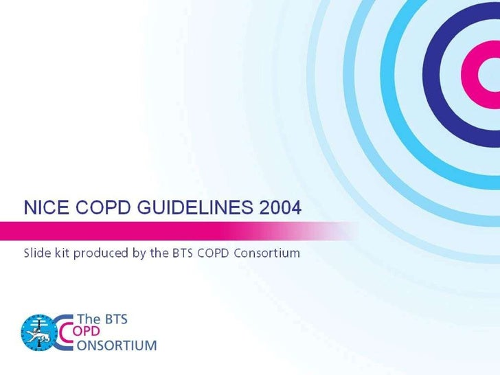 COPD NICE guidelines 2004 Slide 1