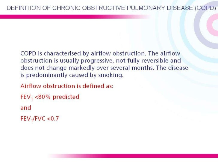 COPD NICE guidelines 2004 Slide 3