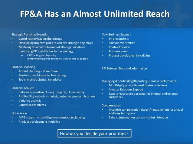 fp u0026a operating model