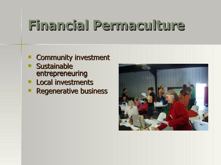 Financial Permaculture Overview Slide 2