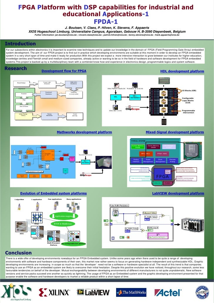 FPGA Platform with DSP capabilities for industrial and                         educational Applications-1                 ...