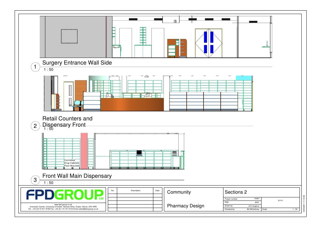 fpd retail community pharmacy design