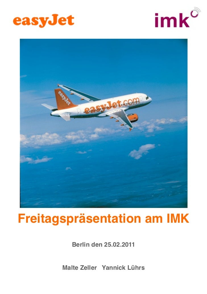 Freitagspräsentation am IMK          Berlin den 25.02.2011       Malte Zeller Yannick Lührs