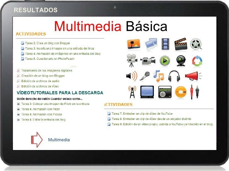 RESULTADOS         Multimedia Básica                3       Multimedia
