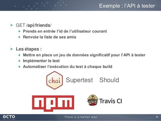 19 GET /api/friends/ Prends en entrée l'id de l'utilisateur courant Renvoie la liste de ses amis Les étapes : Mettre en pl...