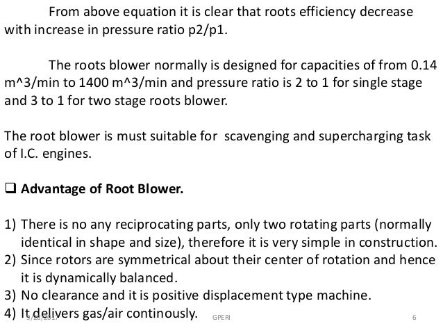 ROOT BLOWERS